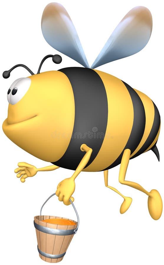 pszczoła ilustracja wektor