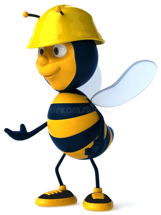 pszczoła royalty ilustracja