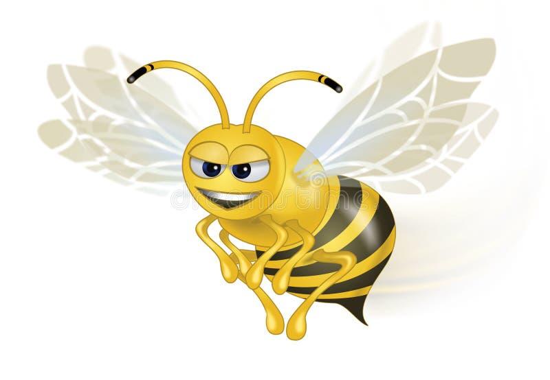 pszczoła mądra royalty ilustracja