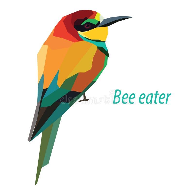 Pszczoła zjadacz ilustracji