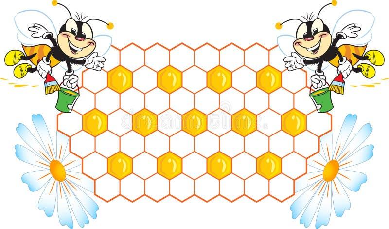 pszczoły ilustracji