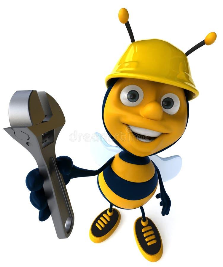 pszczoły działanie ilustracji