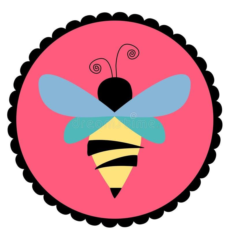 pszczoły foka royalty ilustracja