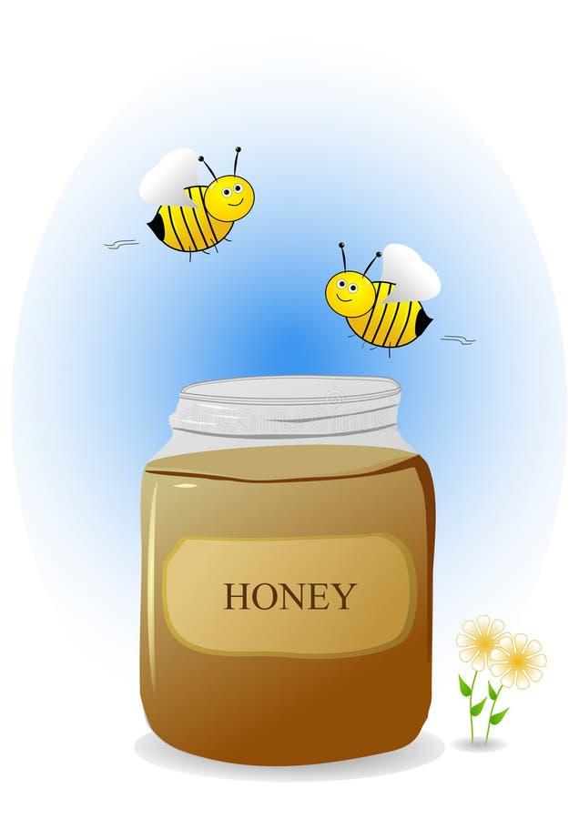 pszczoły miodowe ilustracji