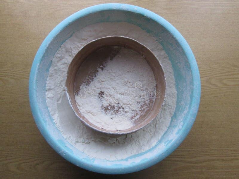 Pszeniczna mąka zdjęcie stock