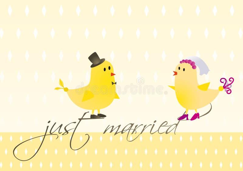 ptaków indd ślub obrazy royalty free