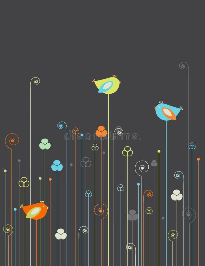 ptaków kwiaty