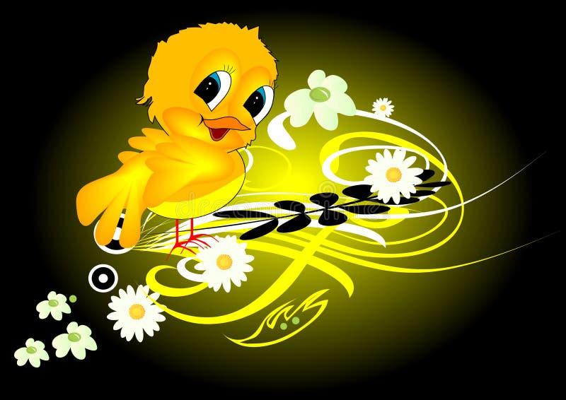ptak royalty ilustracja