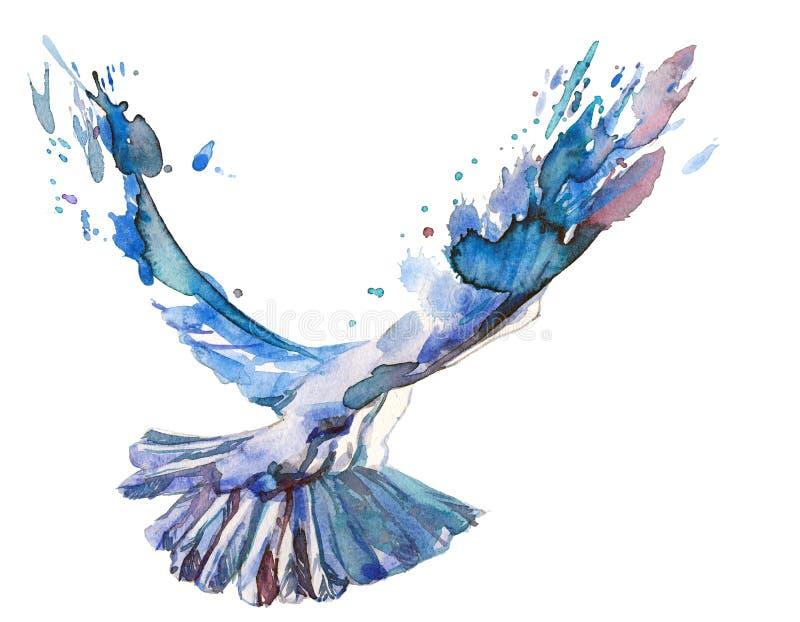Download Ptak ilustracji. Ilustracja złożonej z arte, wiara, nikt - 53780896