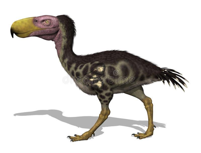 ptak kelenken prehistorycznego terror ilustracji