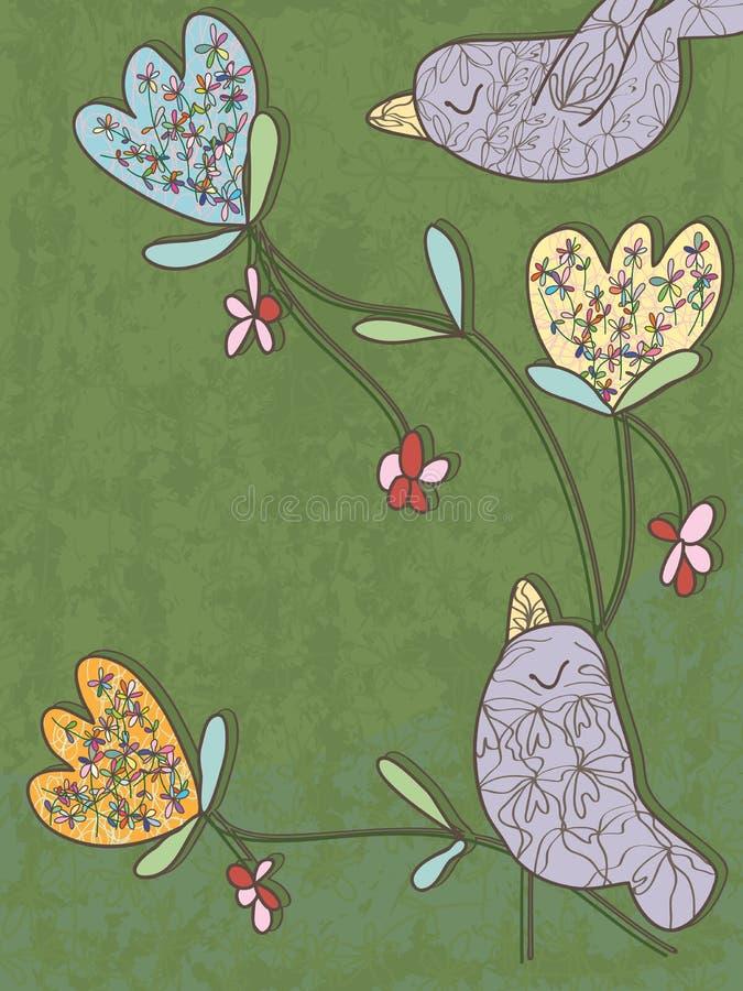 Ptak Lubi ilustracja wektor