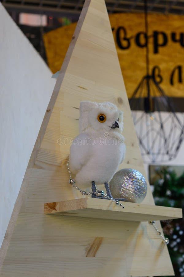 Ptak orzeł sowa symbol mądrość zdjęcia royalty free