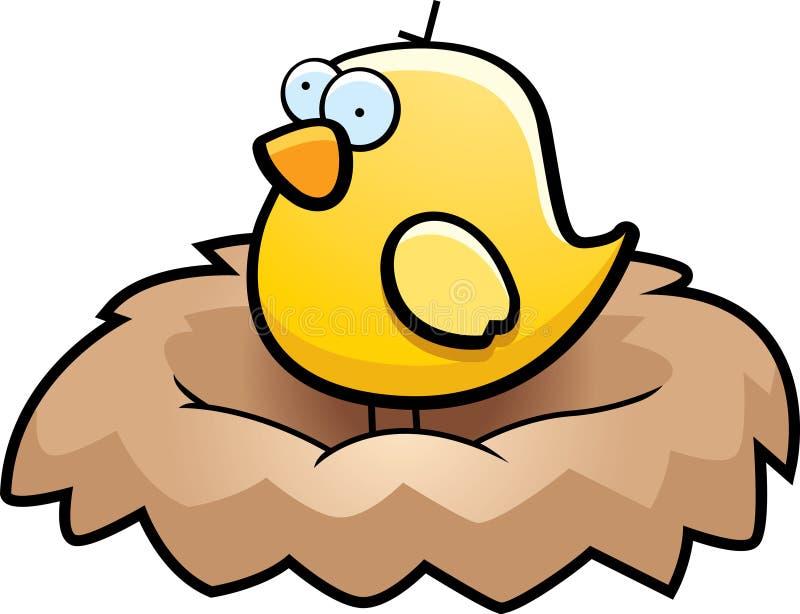 ptaka gniazdeczko royalty ilustracja
