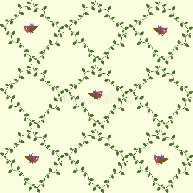 Ptaka wzór obrazy stock