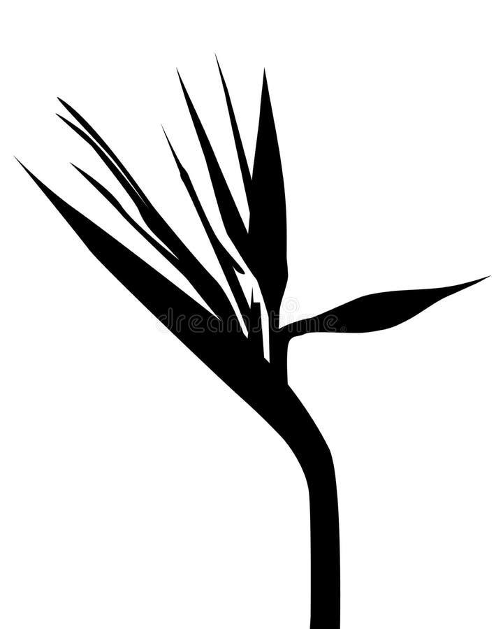 Ptaki raju wektor royalty ilustracja