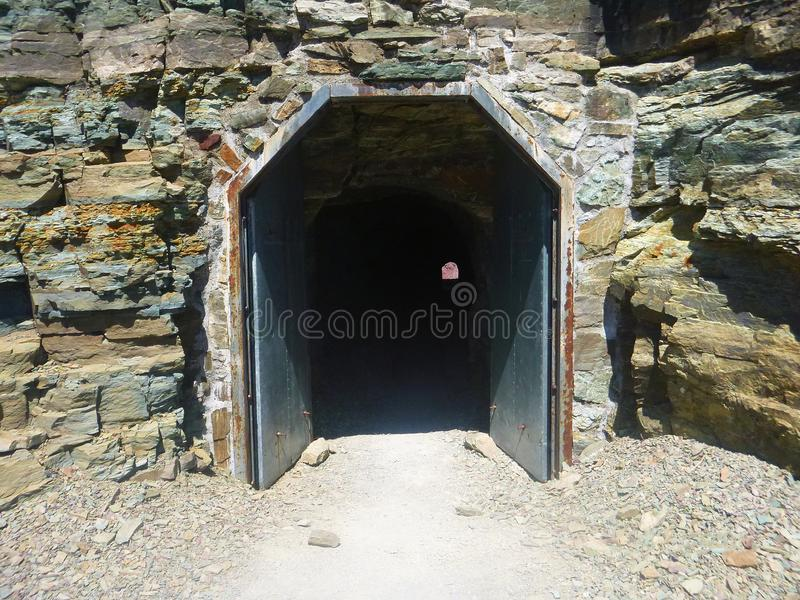 Ptarmigan Tunnel stock foto's