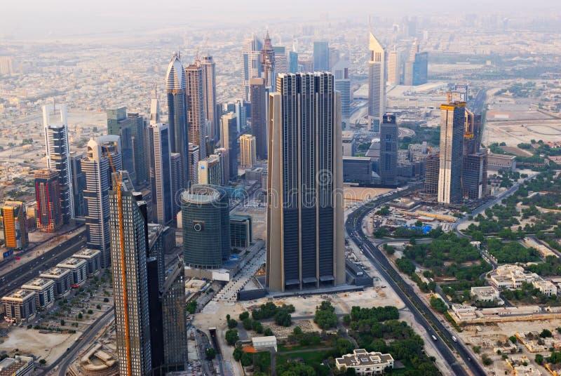 ptasi Dubai oka s widok fotografia royalty free