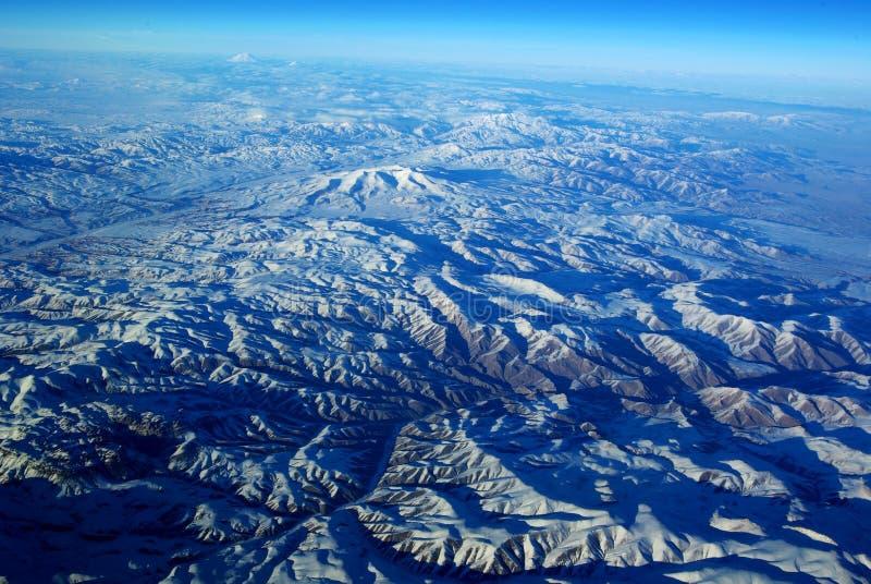 ptasi oka gór s śnieg obrazy stock