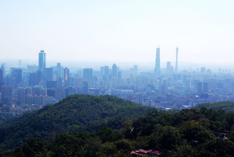 ptasi oka Guangzhou s widok obraz stock