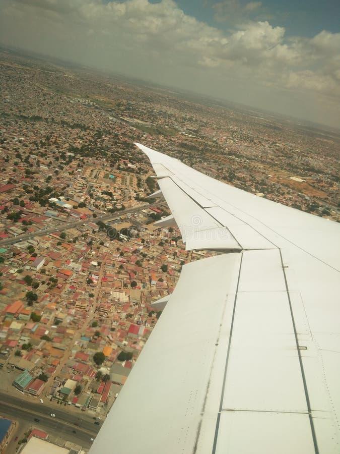 Ptasi widok Luanda zdjęcia royalty free