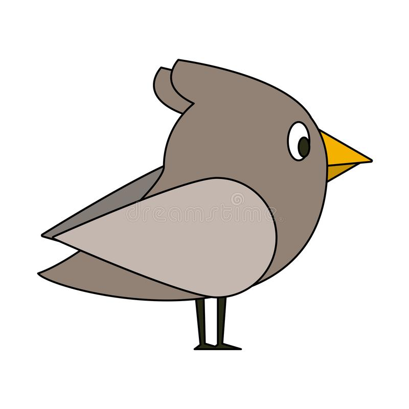 Ptasie śliczne kreskówki ilustracji