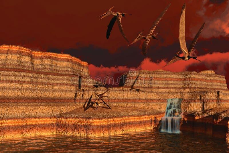 pteranodon obraz stock