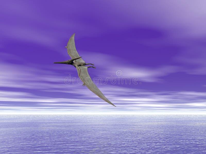 Pteranodon illustrazione vettoriale