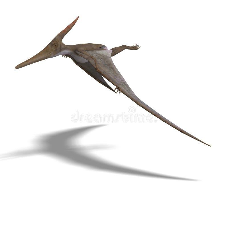pteranodon de dinosaur illustration stock