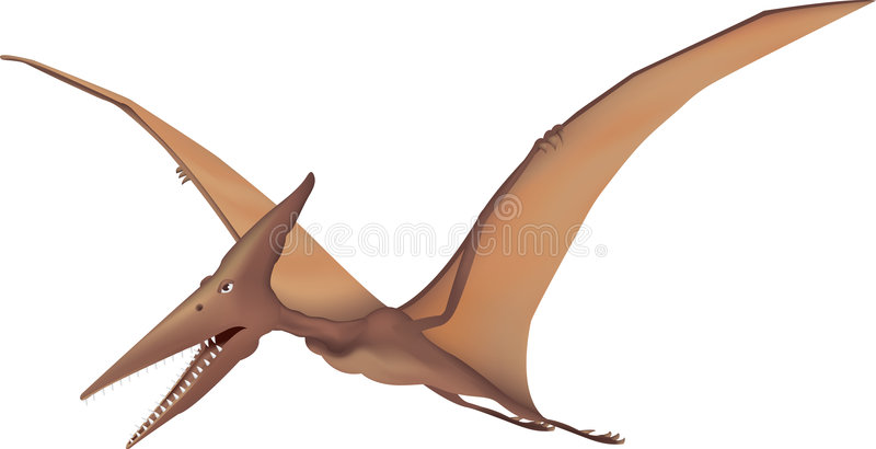 pterodactyl illustration de vecteur