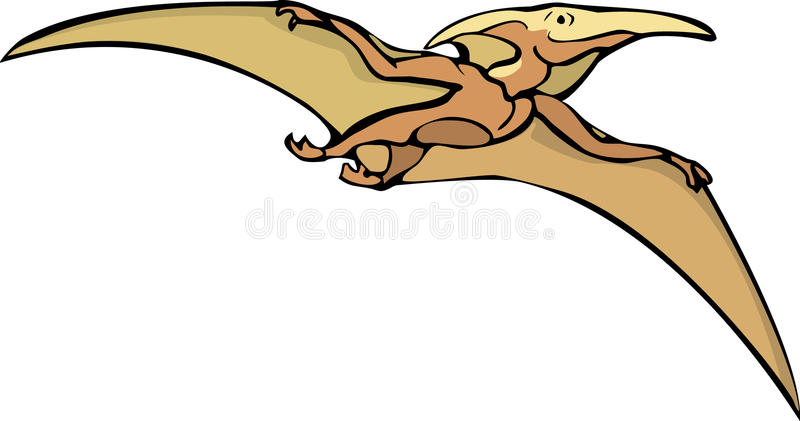 Download Pterodactyl stock vector. Image of child, smile, flap - 9923571