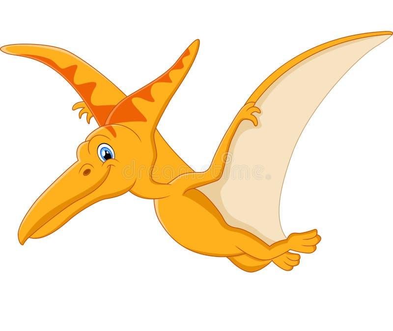 pterodactyl cartoon stock illustration illustration of
