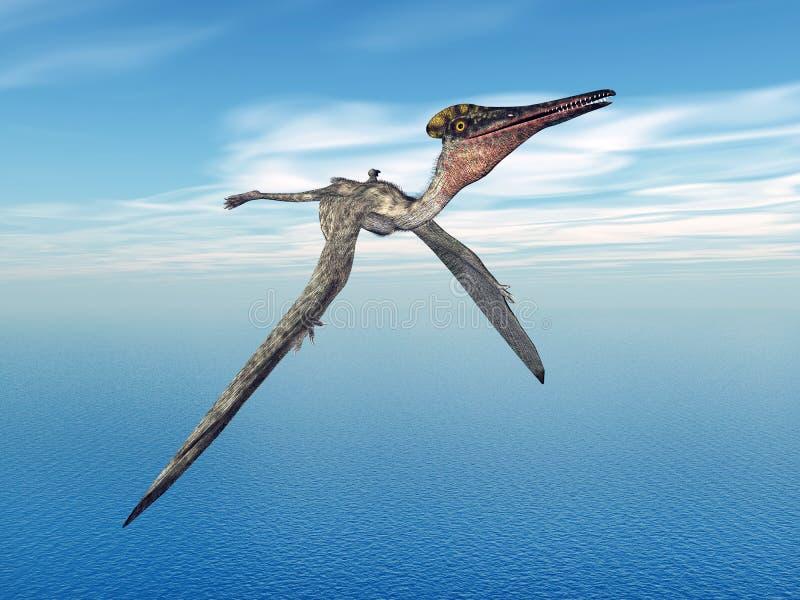 Pterodactylus de Pterosaur libre illustration