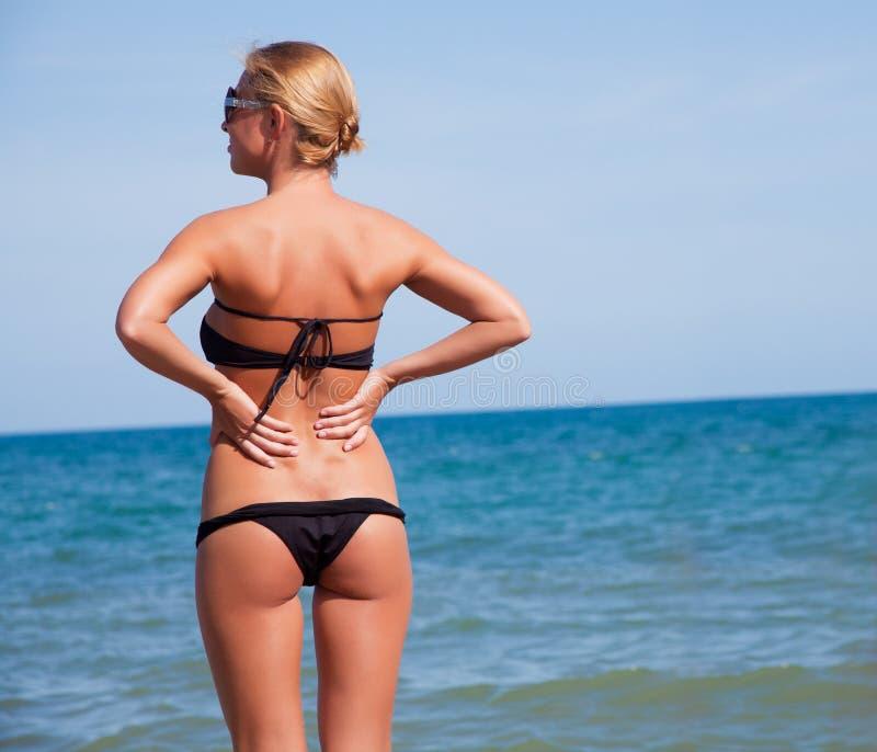 Ptretty woman on the beach