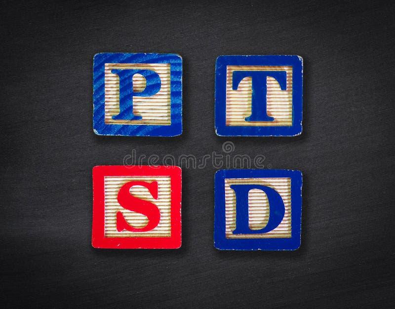 PTSD fotografía de archivo