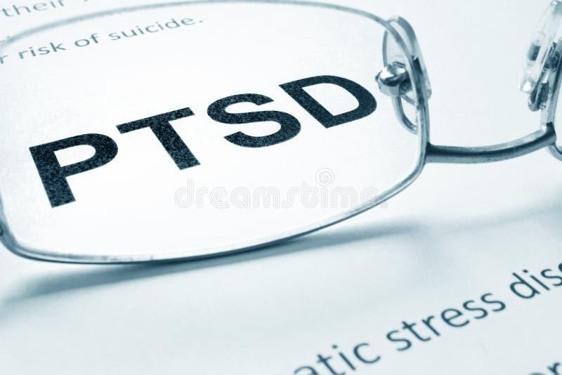 PTSD obraz stock