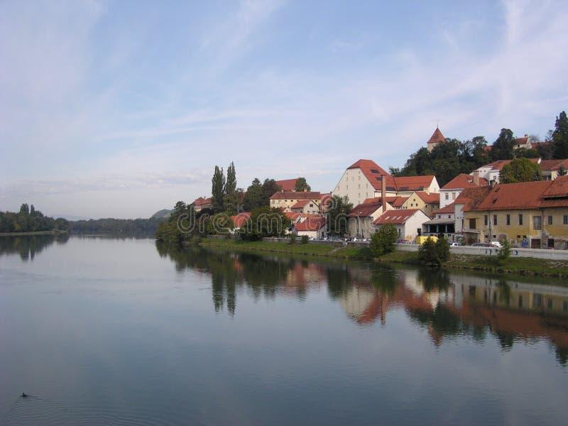 Ptuj (Eslovenia) Fotografía de archivo
