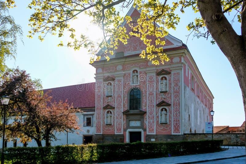 Ptuj, monastero domenicano immagini stock libere da diritti