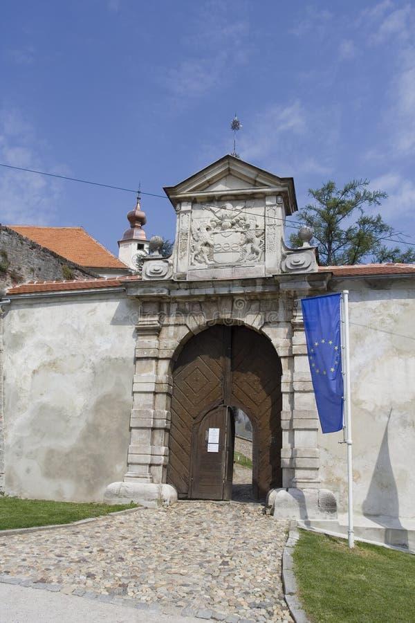 Ptuj, Slowenien stockfotografie