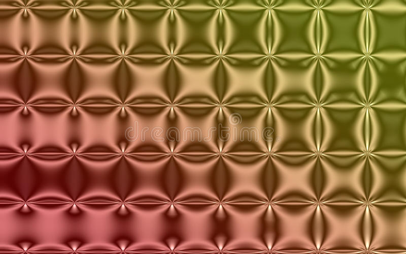 Ptysiowy koloru fractal tło royalty ilustracja