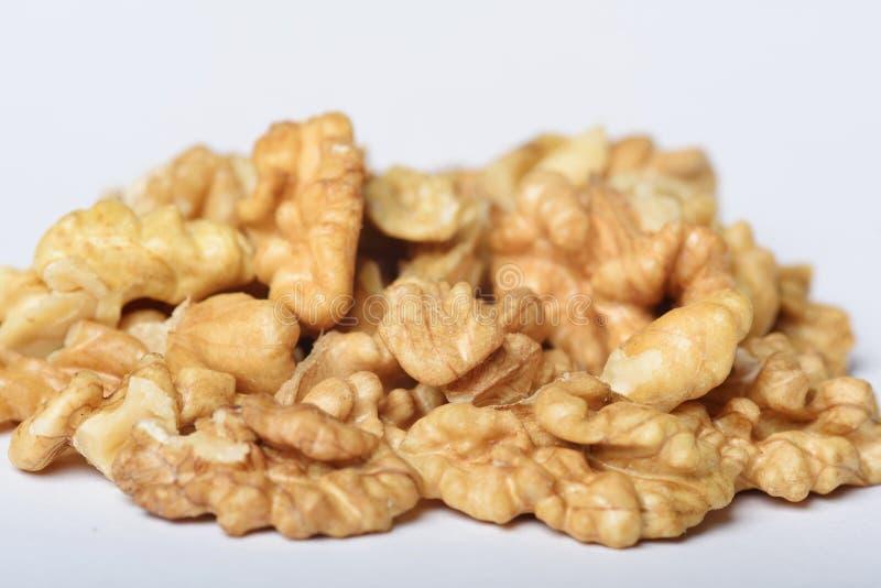 Puñado de Nutmeats fotos de archivo libres de regalías