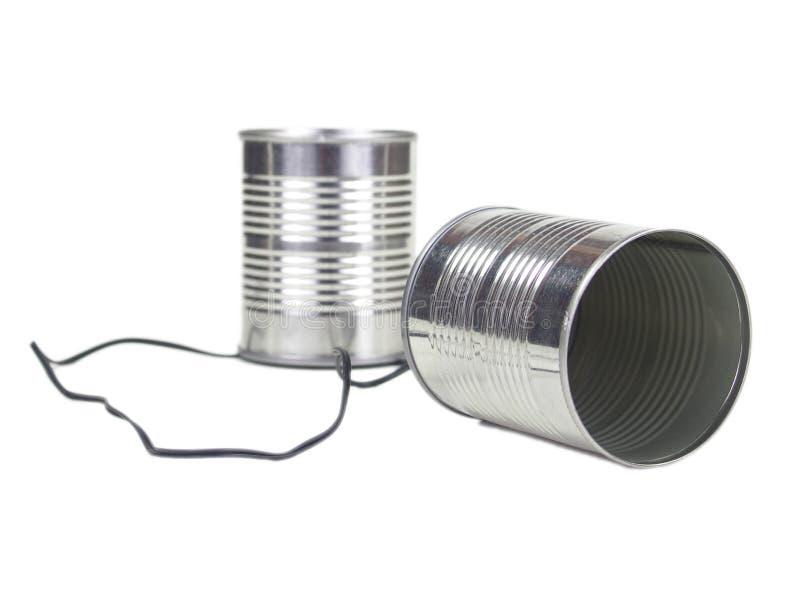 Può telefonare immagine stock libera da diritti