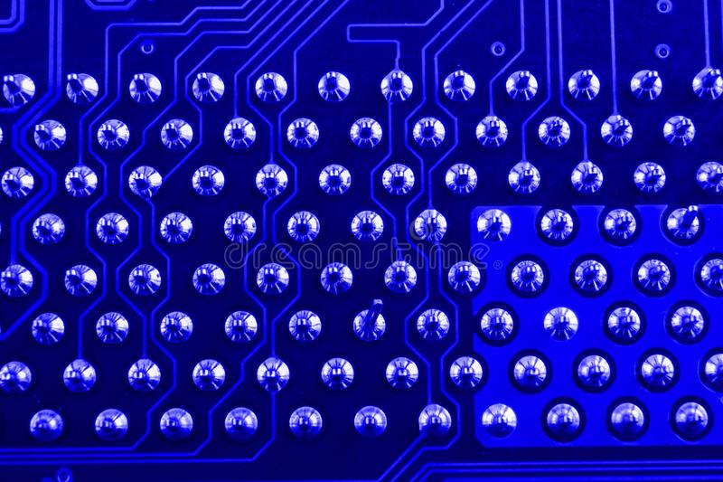 Può usare come priorità bassa Tecnologia di hardware elettronica Chip digitale della scheda madre Fondo di scienza di tecnologia  immagine stock libera da diritti