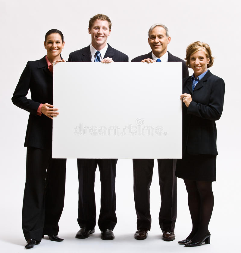 puści biznesowi mienia papieru ludzie obrazy royalty free