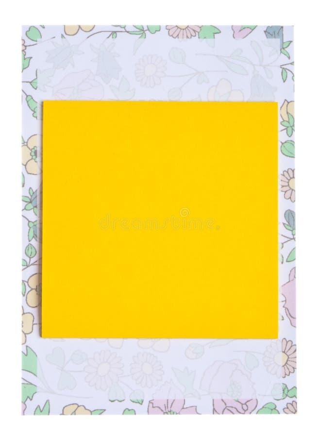 puści dekoracyjni płatowaci notepads zdjęcie stock