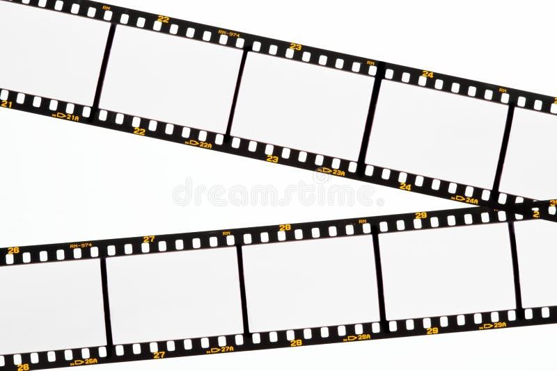 puści ekranowi ram obruszenia paski obraz stock