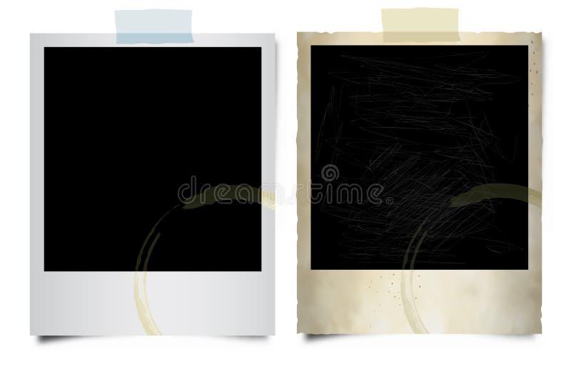 puści polaroidy ilustracja wektor