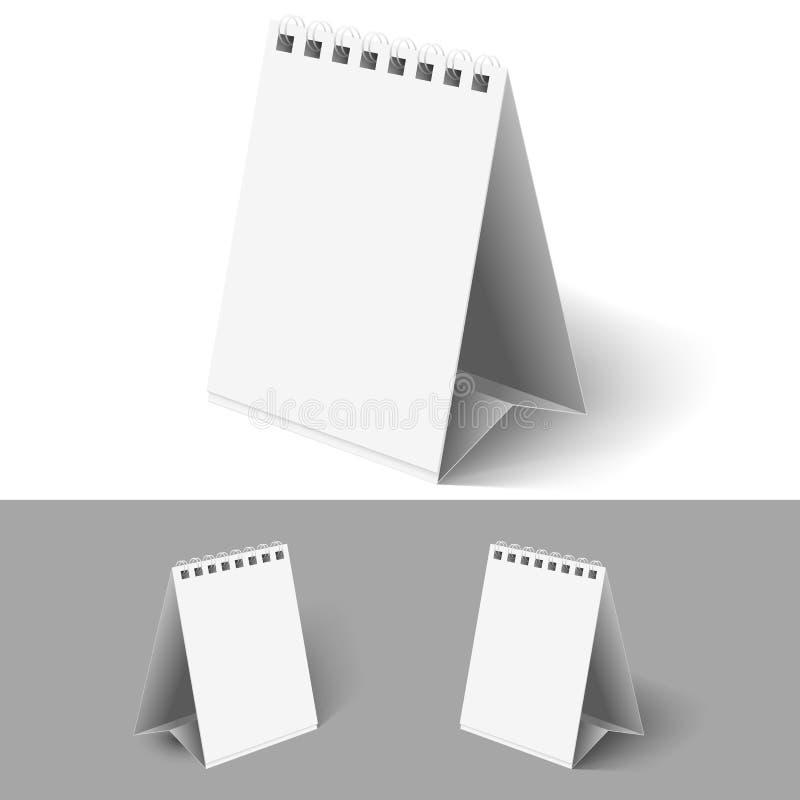 Puści trzepnięcie kalendarze. ilustracji