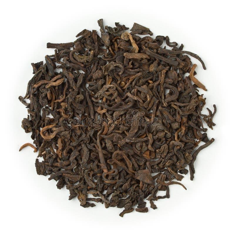 Pu-Erh Юньнань черного чая стоковое фото