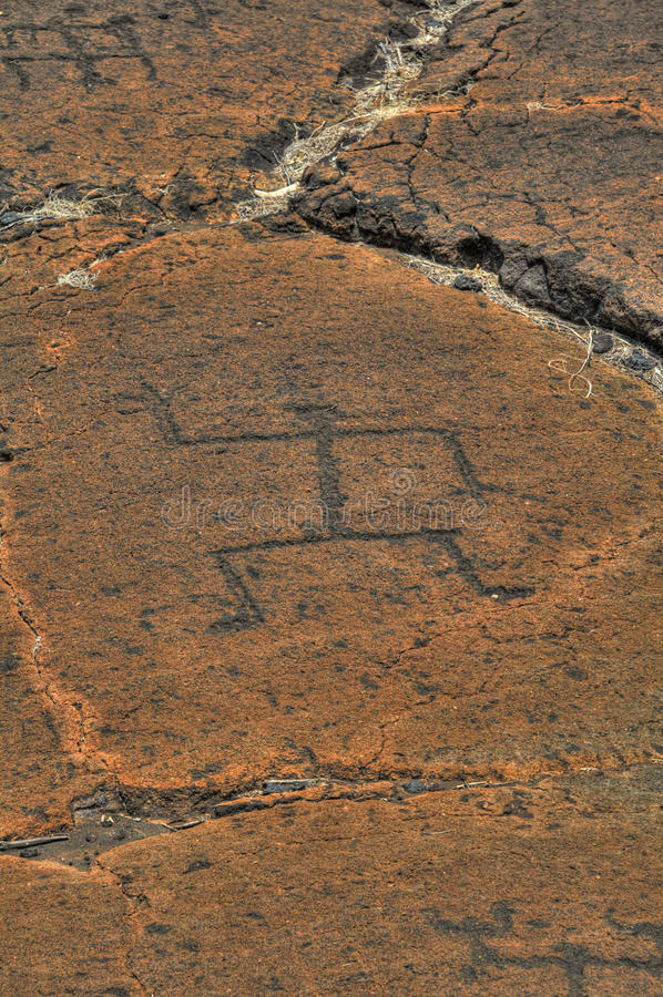 Download Puako Petroglyphs stock photo. Image of lava, stick, carving - 10345936