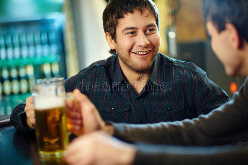 In A Pub Royalty Free Stock Photos